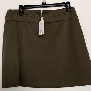 Candie's medium olive color skirt